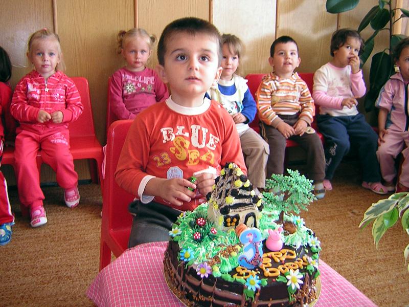 Бобо на 3 години