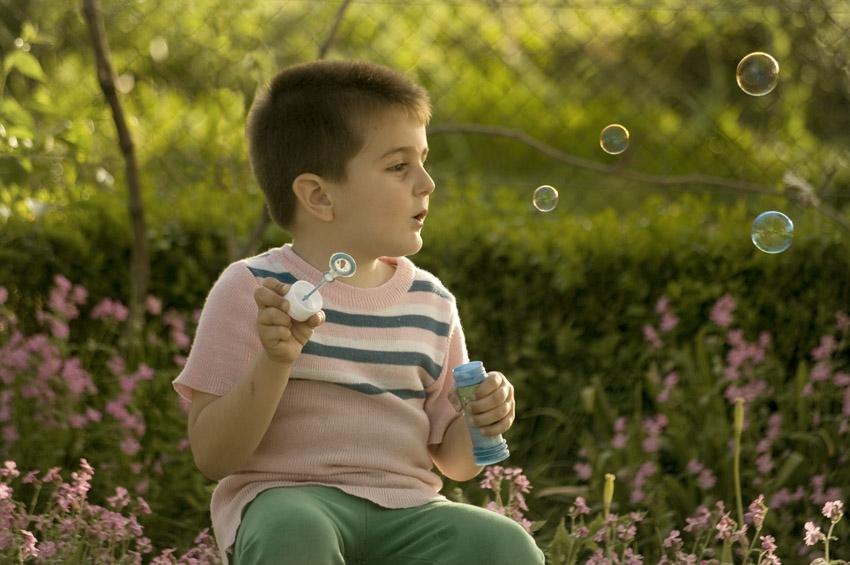 Бобо и сапунените балони
