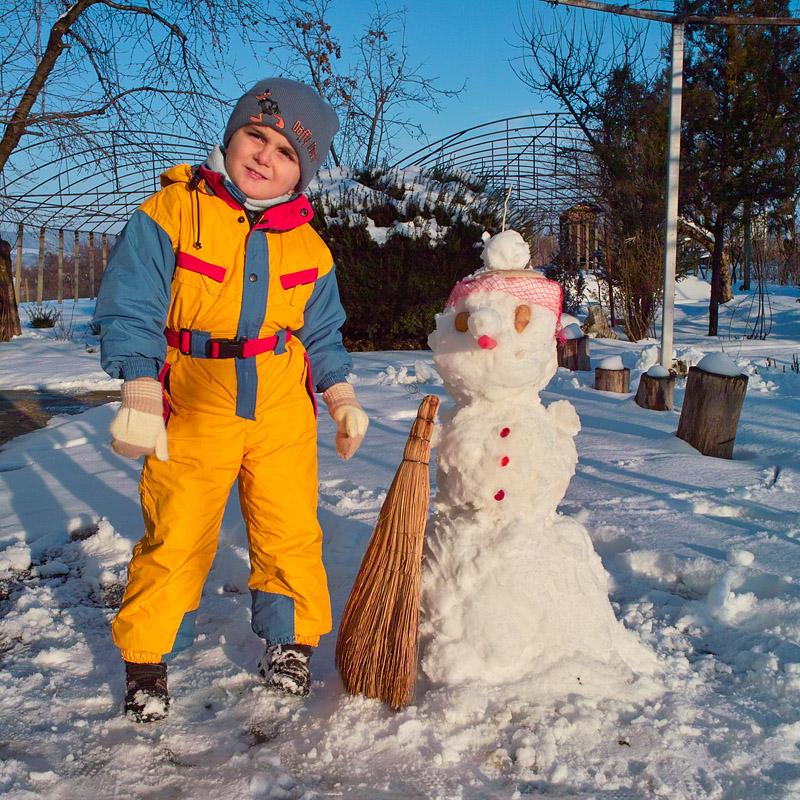 Бори и снежният човек
