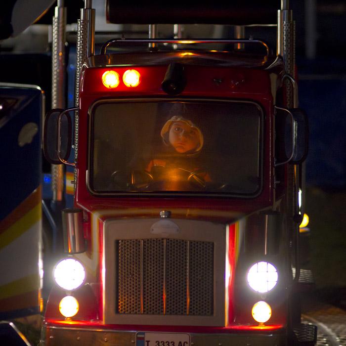 Бори кара камион