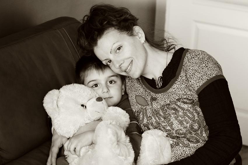 Бобо мама и мечо на Цветница