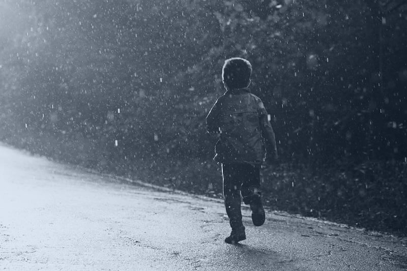 Бобо под дъжда