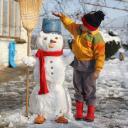 Бобо и снежният човек - Страхил 03
