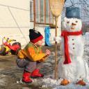 Бобо и снежният човек - Страхил 04