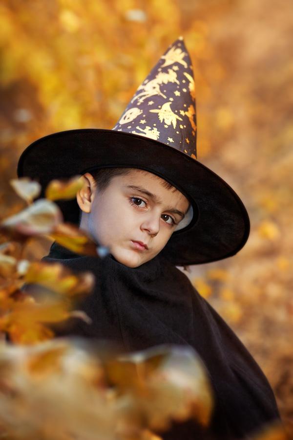 Бори - един хелоуински портрет